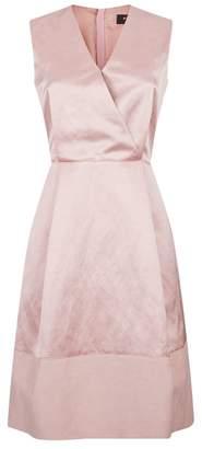 Paule Ka V-Neck A-Line Dress