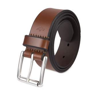 Dockers Men'smm Leather Bridle Belt