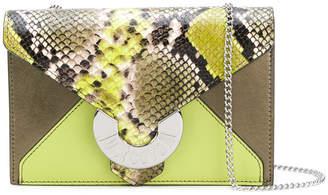 Just Cavalli (ジャスト カヴァリ) - Just Cavalli snake effect shoulder bag