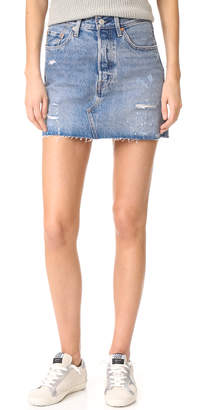 Levi's Deconstructed Skirt $128 thestylecure.com