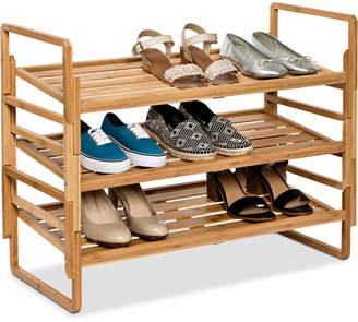 Honey-Can-Do 3-Tier Nesting Shoe Rack