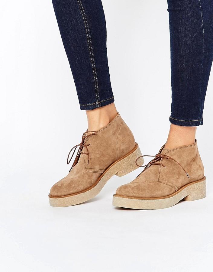 AsosASOS ALVA Suede Lace Up Ankle Boots