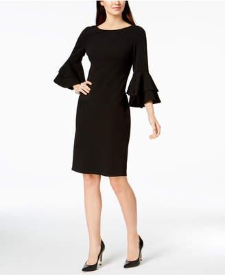 dc69b2cbc1c Calvin Klein Black Bell Sleeve Dresses - ShopStyle