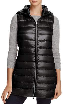 Herno Hooded Long Down Vest