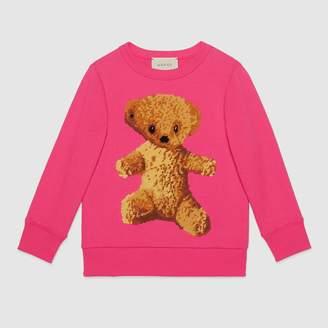 Gucci Children's sweatshirt with teddy bear