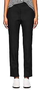 Officine Generale Women's Zoe Wool Trousers - Black