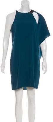 Halston Sleeveless Asymmetrical Dress w/ Tags