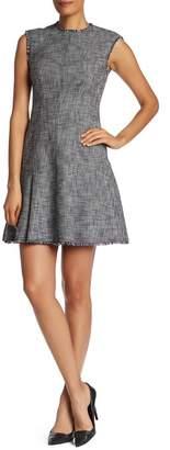 Rebecca Taylor Sleeveless Tweed Suit Dress