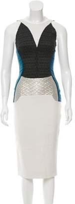Antonio Berardi Patchwork Colorblock Dress