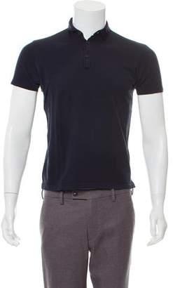 Lanvin Piqué Short Sleeve Polo