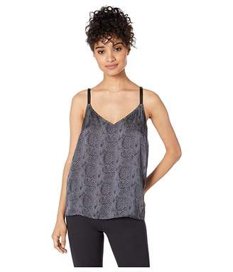 Paige Cicely Cami w/ Faux Leather