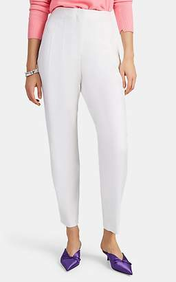 A.L.C. Women's Jackson Stretch Linen-Blend Pleated Pants - White