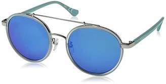 Calvin Klein Unisex Ck1225s Round Sunglasses