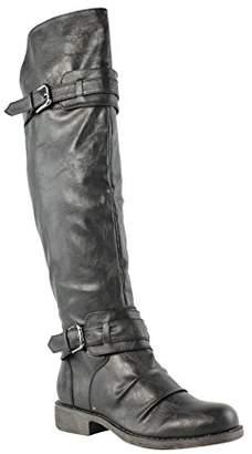 Diba Girl Women's Curl Up Motorcycle Boot