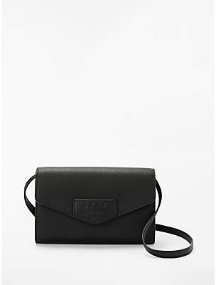 dbe6fa10ccf5 at John Lewis and Partners · DKNY Sullivan Leather Cross Body Purse