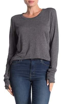 Michael Stars Long Sleeve Thumbhole T-Shirt