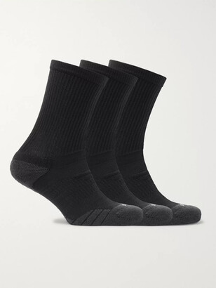 Nike Training - Three-Pack Everyday Max Cushion Crew Dri-FIT Socks - Men - Black