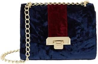 Harrods Pershore Velvet Bag