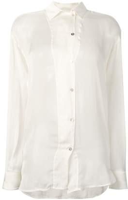 Forte Forte layered sheer shirt