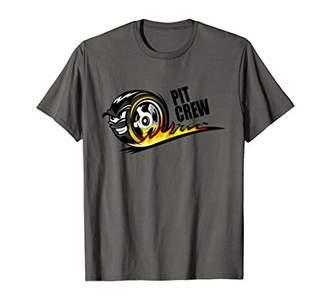 Pit Crew T-Shirt Race Car Party