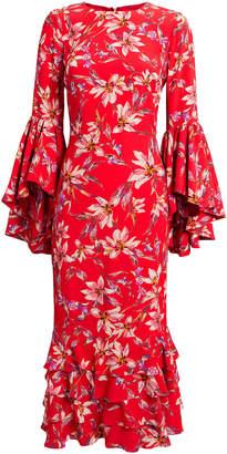 Amur Alexia Midi Dress