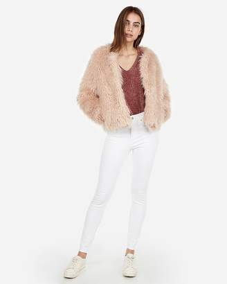 Express Shaggy Jacket
