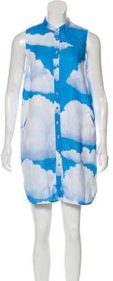 Mara Hoffman Linen Printed Mini Dress