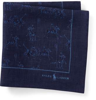 Ralph Lauren Polo Match Linen Pocket Square