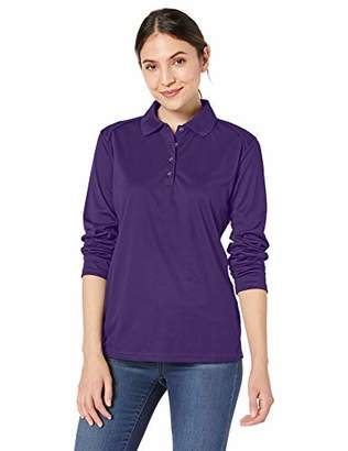 Ashe Xtream Women's ACTY-75111-Eperformance Snag Protection Long-Sleeve Polo, XS