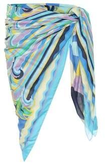 Emilio Pucci Beach Printed cotton sarong