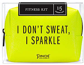 Pinch Provisions I Don't Sweat, I Sparkle Fitness Kit.