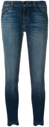 J Brand raw step hem skinny jeans
