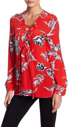 Yumi Kim Lace Place Silk Blouse