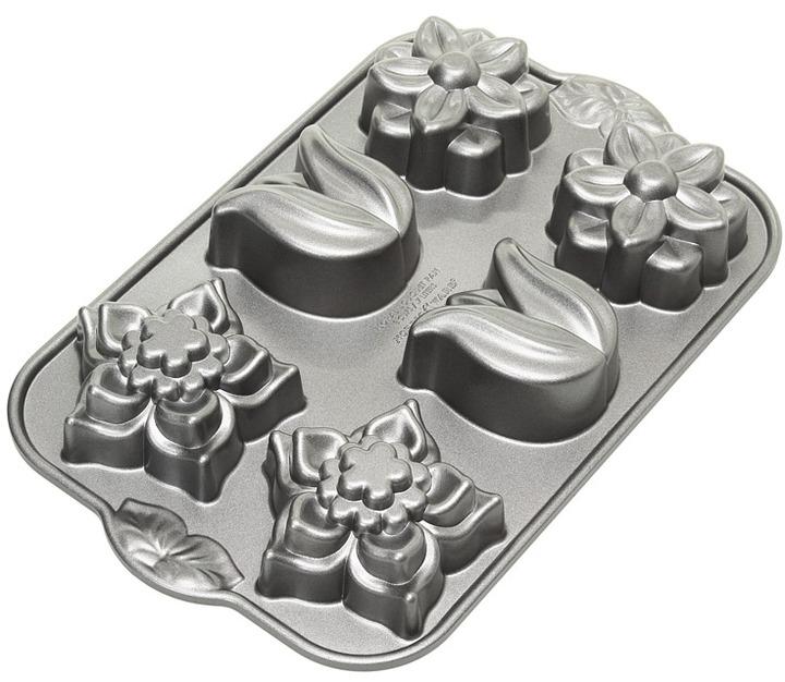 Nordicware Floral Bouquet Cupcake Pan (Aluminum) - Home