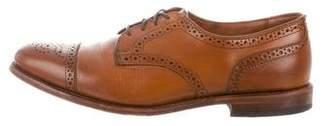 Allen Edmonds Leather Round-Toe Brogues