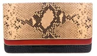 Dries Van Noten Embossed Leather Shoulder Bag