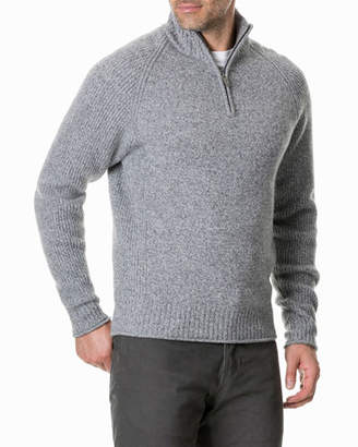 Rodd & Gunn Men's Stredwick Half-Zip Wool Sweater