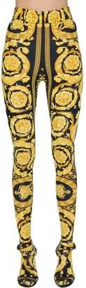 Versace Baroque Print Lycra Leggings
