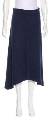 Tory Sport Flared Midi Skirt