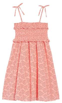 J.Crew crewcuts by Umbrella Print Smocked Bodice Dress