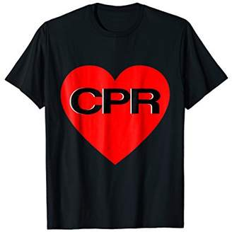 CPR Shirt AED Life Saver EMS Gift Paramedic EMT Nurse