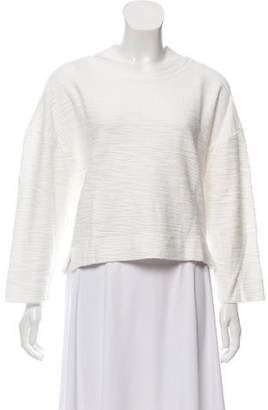 L'Agence Textured Knit Top
