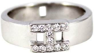 Hermes White Gold Ring