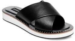 Design Lab Debi Crisscross Slip-on Sandals