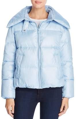 KENDALL + KYLIE Convertible Hood Short Puffer Coat