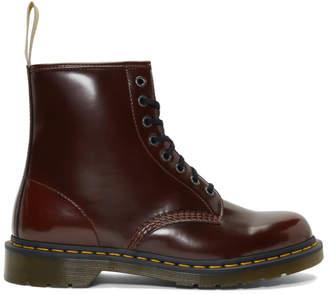 Dr. Martens Burgundy Vegan 1460 Boots