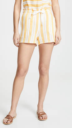 Lemlem Doro Tie Belt Shorts