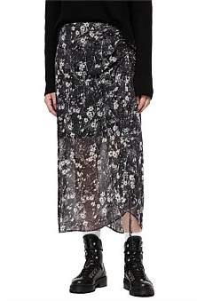 AllSaints Ariya Lisk Skirt