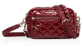 MZ Wallace Mini Quilted Leather Crossbody Strap