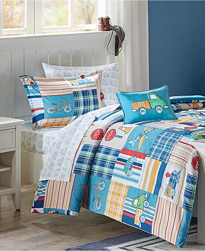 Mi Zone Kids Choo Choo Charlie 8-Pc. Reversible Full Comforter Set Bedding